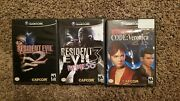 Resident Evil 2, 3, And Code Veronica X Gamecube