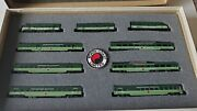 Con Cor N Scale Northern Pacific North Coast Limited Passenger Set. New