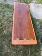 1960s Lane Hickory And Walnut Coffee Table And End Table