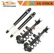 2x Quick Complete Struts Springs And Mount + 2x Shocks For Nissan Maxima 2002-2006