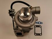 Billet Gt28 Turbo Charger Gtx2860r Dual Ball Bearing A/r .64 Hot A/r .60 Cold
