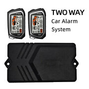 Two Way Car Engine One Button Start Keyless Entry Remote Control Alarm System