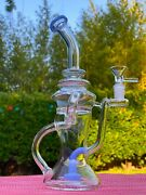 Premium Glass Water Pipe Recycler 8 Thick Bong Hookah