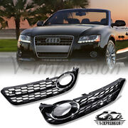 Honeycomb Fog Light Grille Cover For Audi A5 Coupe 2008-2011 Standard Bumper