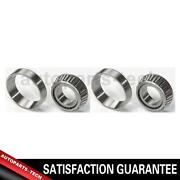 2x National Rear Wheel Bearing And Race Set For Ford Ranchero 19571970