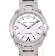 Louis Vuitton Fifty Five Q6g200 Silver Dial Automatic Menand039s Watch R104693
