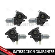 4x Aci Front Left Front Right Rear Left Rear Right Power Window Motor For Escape