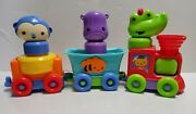 Fisher-price Silly Safari Rattle And Roll Animal Train 2015