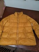 Womens Old Navy Jacket Xxl Tall -mustard Color