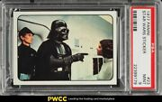 1977 Panini Stickers Star Wars Italy Vader Confronts Leia 23 Psa 9 Mint