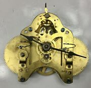 Seth Thomas Number 10 Clock Movement With Hands