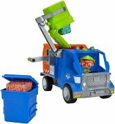 Blippi Recycling Truck - Includes Character Toy Figure Working Lever 2...