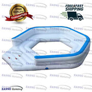20x13ft Inflatable Sofa Floating For Sea And Pool With Air Pump