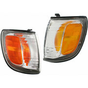Fits 1999-2002 Toyota 4runner Pair Park / Clearance Lights Driver And Passenger