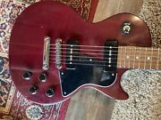 1998 Gibson Les Paul Special Electric Guitar Cherry Red Plays Great