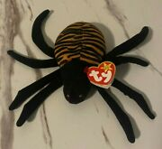 Ty Beanie Baby Spinner Spider Style 4036 Mint