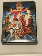 Street Fighter Ii V The Collection Dvd 4 Disc Set