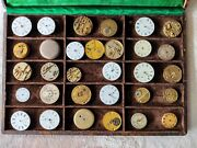 Vintage Pocket Watch Movements - Lot Of 30 Pocket Watches