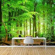 Wall Mural Forest Removable Wallpaper Wall Sticker For Bedroom Living Room - 100