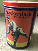Vintageandnbsp Cracker Jack Tin Can 1992 Container Limited Edition Third In Series Euc