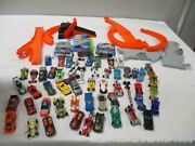 Hotwheels Toy Car Lot With Race Track Vd