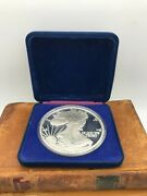 1992 1 Troy Lb .999 Fine Silver Large Walking Liberty Eagle Coin