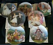 The Sound Of Music Knowles Collector Plates 1-7 Coa And Boxes
