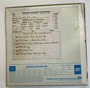 Vic Damone 15ips 2-track 10.5 1/4 Reel-to-reel Tape Master Safety Copy T1