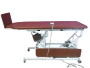 Midland 7208 E Tilt Exam Table Physical Therapy Stander And Walk Off Foot Plate