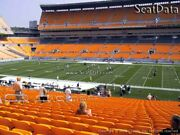 3 Pittsburgh Steelers Vs. Tennessee Titans Club Seats Section 237 - Row A