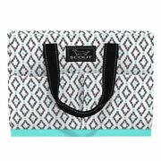 Scout Tote Bag W/pockets Uptown Girl Teal Diamond 12 X 5.5 X 16