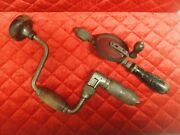 Vintage Hand Drills - One1 Millers Falls Holdall No. 733 And One1 Stanley 1221