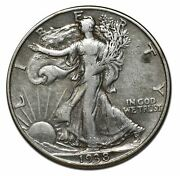 1938d Walking Liberty Silver Half Dollar 50andcent Coin