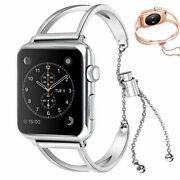 For Apple Watch Iwatch 38 Mm And42 Mm Fashion Hollow Metal Aluminum Wrist Band