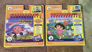 New My First Leap Pad Book And Cartridge Jay Jay Jet Plane And Dora The Explorer