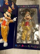 Mickey Mouse Action Figure 30th Anniversary Medicom Toy Tokyo Disney Certificate