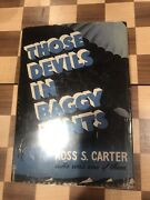 Those Devils In Baggy Pants Ross S Carter 82nd Airborne First Edition 1951