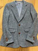 Harris Tweed Young And Olsem Suit Tailored Jacket Coat Wool Women's From Japan
