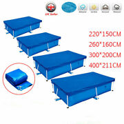 Swimming Pool Cover For Rectangle Outdoor Garden Paddling Family Frame Pools Uk