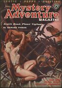 Mystery Adventure Magazine 1936 June. Zenith Rand Cover And Story Pulp