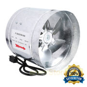 4 6 8 Booster Fan Inline Blower Exhaust Ducting Cooling Vent Hps Hydroponic