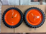 Allis Chalmers Wd 45 Sm - Case Ertl Pedal Tractor Rear Tires -2 -drive And Idle
