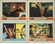 Posters I Want To Live 1958 Lobby Card Set Of 8 11x14 Vf 7.5 Susan Hayward