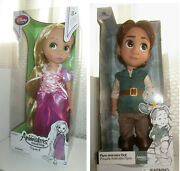 Tangled Flynn Rider And Rapunzel Animatorand039s Collection Doll Disney Store