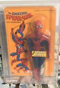 Spider Man Figure Vintage 1977 Mego 12-inch Series W/fly Away Action Afa 40g