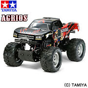Tamiya 1/10 Electric Rc No.549 Monster Trucks Agrios Txt-2 Chassis Toy Off-road