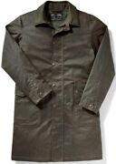 Filson Trench Coat Olive Brown Menand039s M Nwt Msrp 595