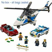 New Lego City Police High-speed Chase 60138 2017 - No Box All Bags Sealed