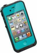 Lifeproof FrĒ Hard Case For Iphone 4 And 4s - Teal