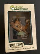 Kurt Adler Field And Stream Christmas White Tail Deer Ornament Discontinued